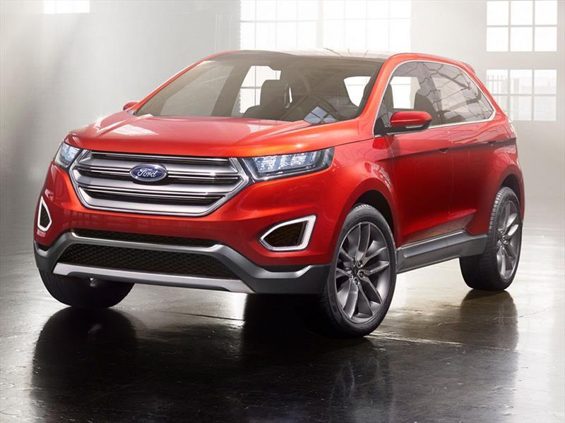 Ford Edge Concept, el hermano mayor de la EcoSport