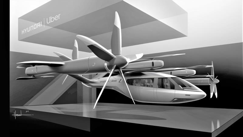 Hyundai y Uber desarrollan un taxi aéreo eléctrico