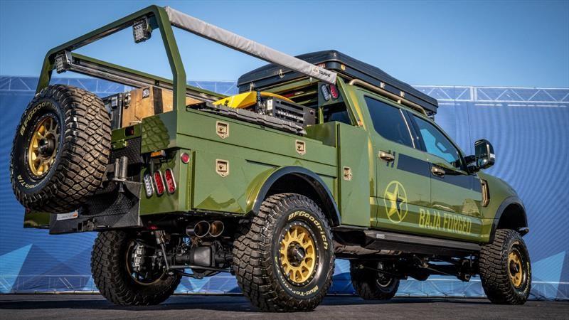Ford F-250 Super Duty por LGE-CTS Motorsports, el pickup ideal para los campamentos