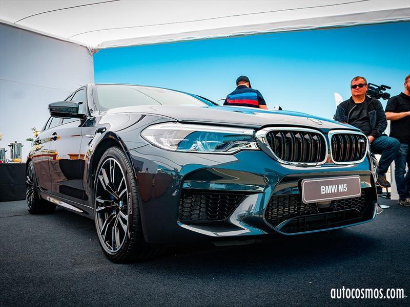 BMW M5 2019 fue protagonista en el BMW M Power Tour 2018