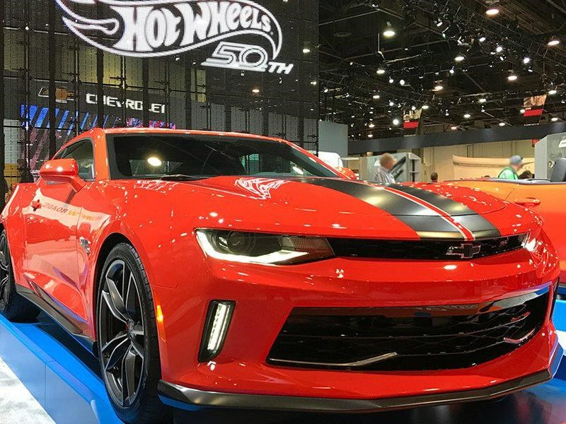 Chevrolet Camaro Hot Wheels se presenta