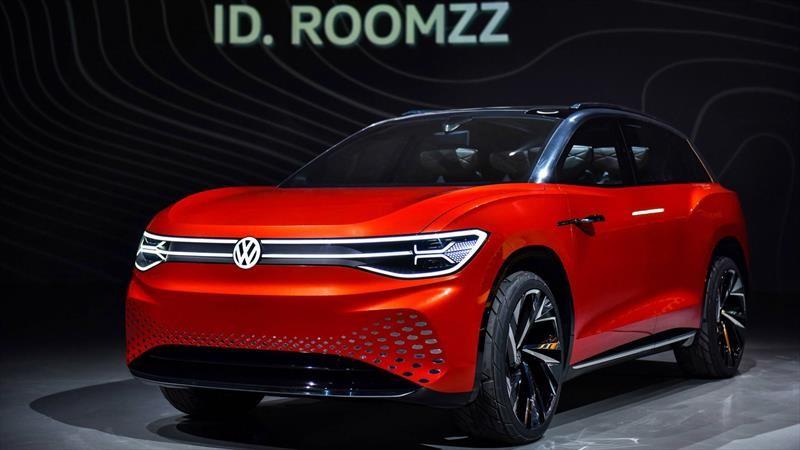Volkswagen ID. Roomzz Concept es un SUV completamente eléctrico