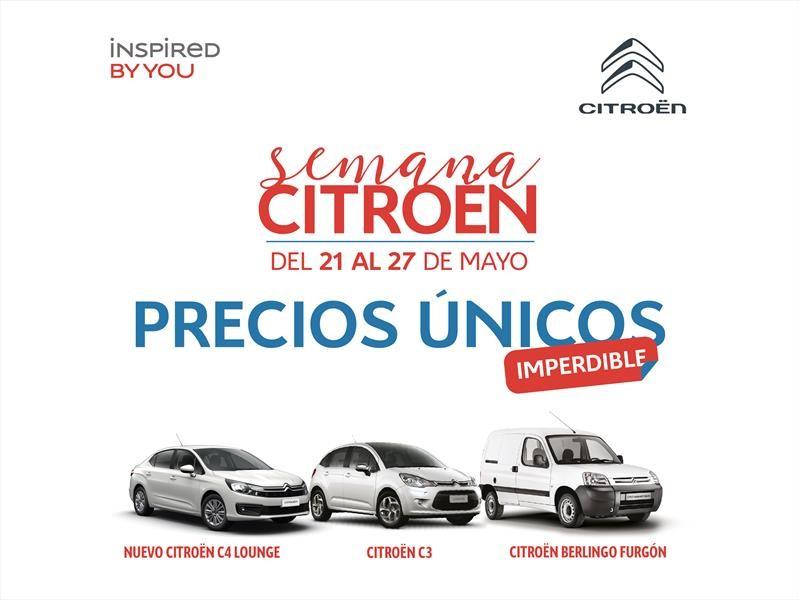 Semana Citroën: bonificaciones y planes para varios modelos
