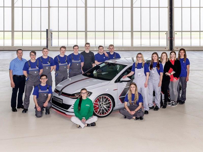 Volkswagen devela en el Wörthersee 2018 dos concept car desarrollados por practicantes