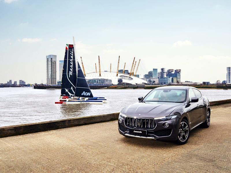 Maserati Multi 70 establece récord mundial de navegación