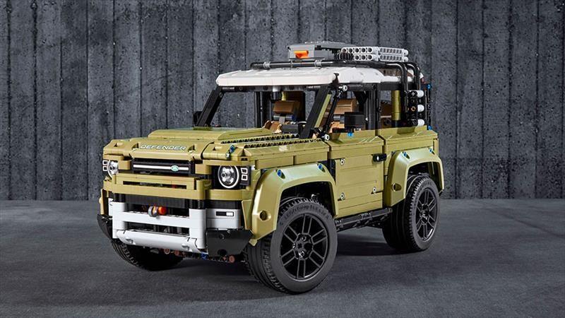 Land Rover Defender 2020 versión Lego es igual o más atractiva que el modelo real