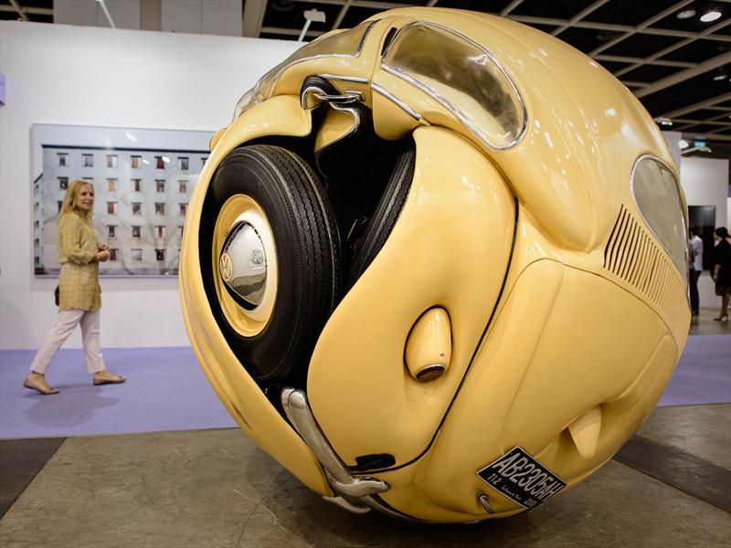 VW Beetle Sphere: ¿Arte?