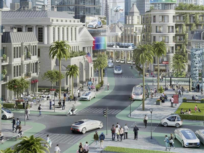 Daimler y Bosch realizarán pruebas de conducción autónoma en California