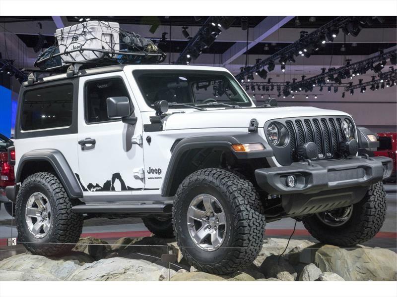 Jeep Wrangler presenta sus nuevas tecnologías en el CES 2018