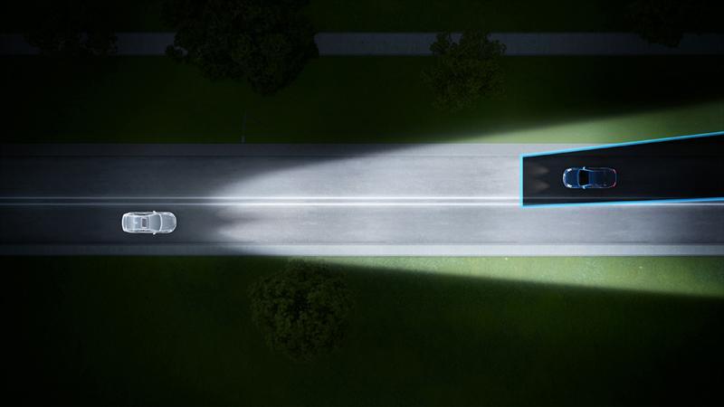 Volvo crea luces altas que no deslumbran