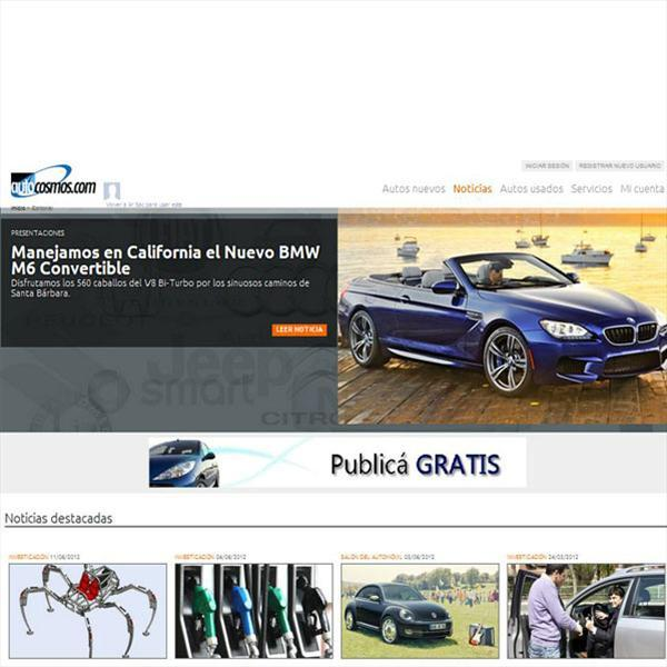 Autocosmos.com cuenta con una versión completamente renovada de su portal