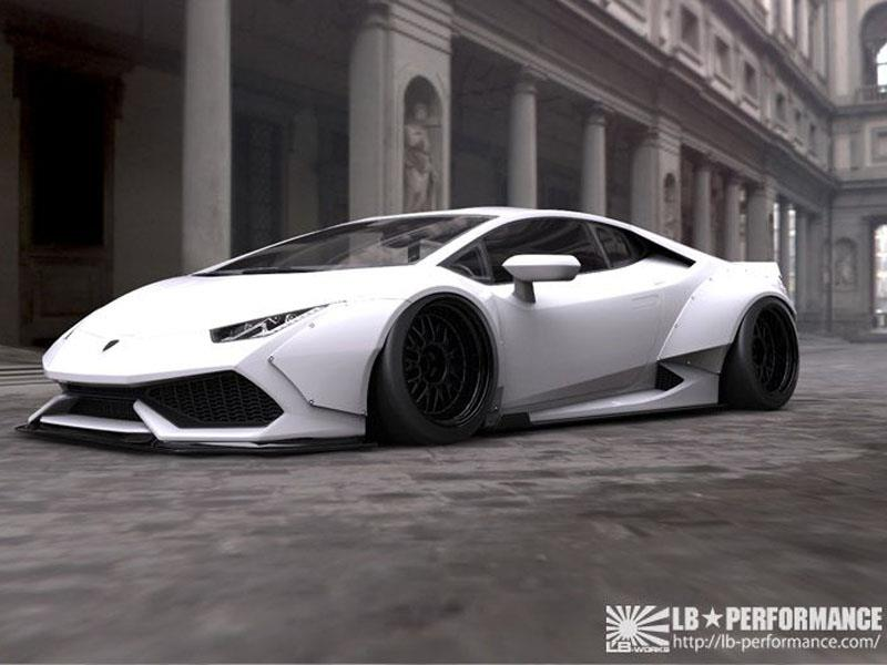 Lamborghini Hurac 225 N Liberty Walk Lb Performance M 225 S Ancho