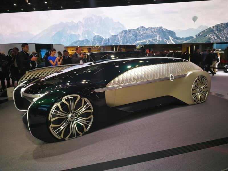 Renault EZ-Ultimo, otra visión de un vehículo autónomo