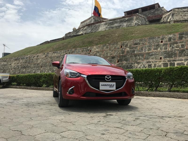 Mazda 2 Sedán llega a Colombia