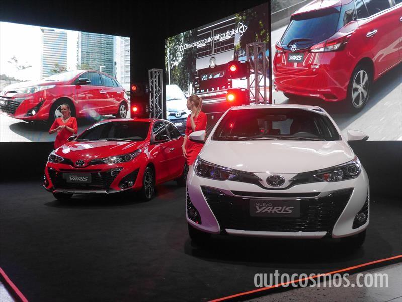 Nuevo Toyota Yaris se lanza en Argentina