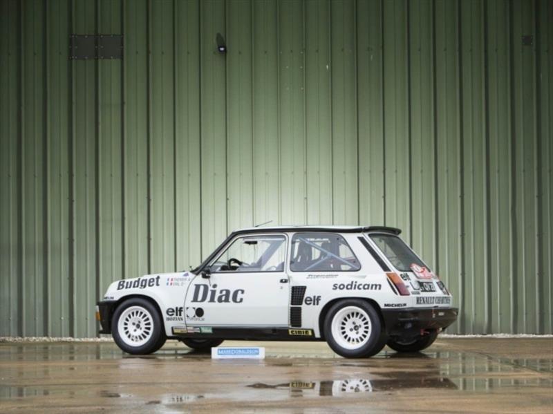 3 magníficos autos de rally de los 80 salen a la venta
