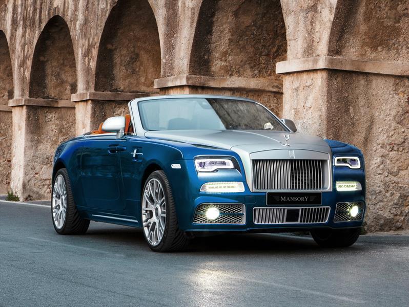 Rolls Royce Dawn Por Mansory M 225 S Exhuberancia Al