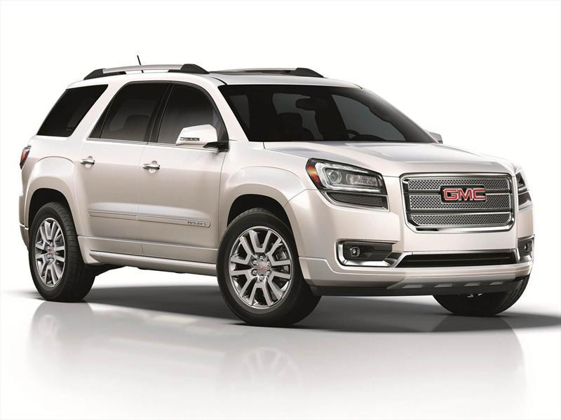 Gmc Terrain 2012 >> GMC Acadia 2013 llega a México desde $615,400 pesos - Autocosmos.com