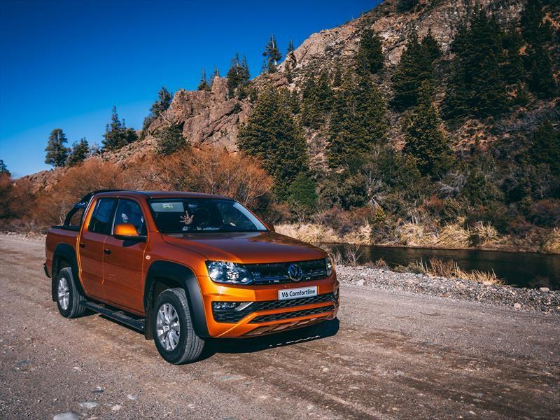 Volkswagen Amarok V6: La manejamos (casi) en la nieve.
