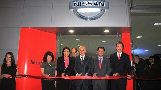 Nissan inaugura nueva concesionaria de Grupo Meta
