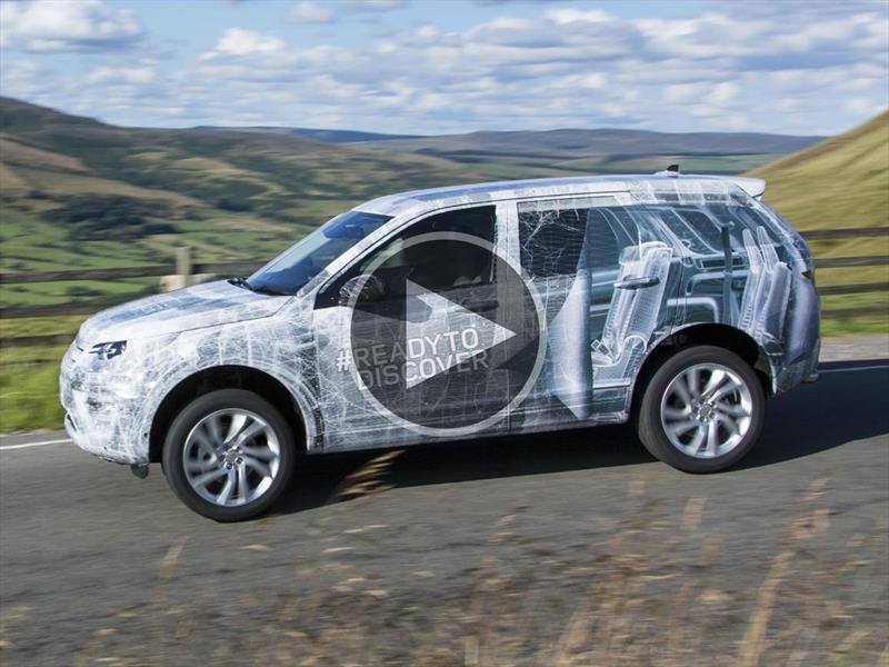 El Land Rover Discovery Sport se prepara para su debut