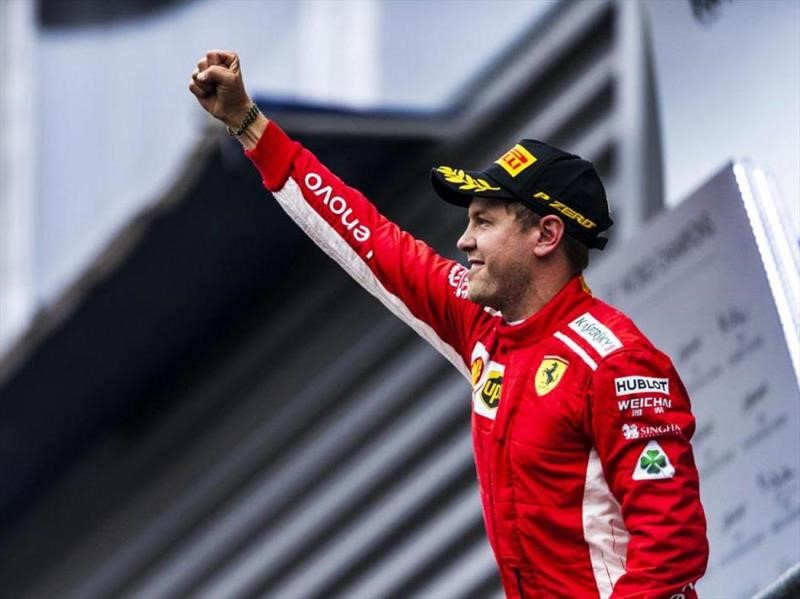 2018 F1: Vettel gana en Spa-Francochamps