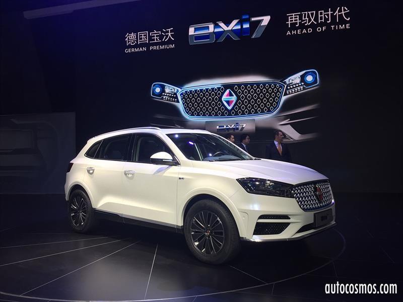 Borgward BXi7 2018, un eléctrizante SUV chino-germano