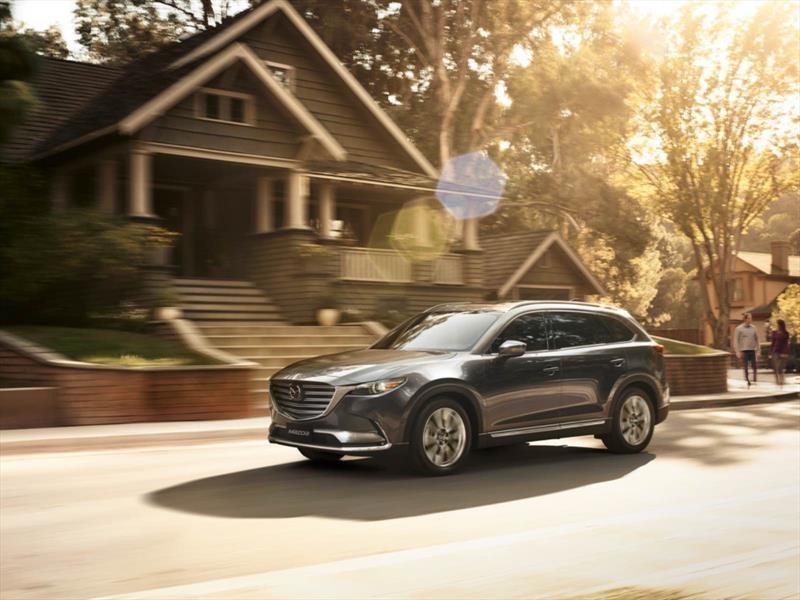 Mazda actualiza el CX-9 con más tecnología de seguridad
