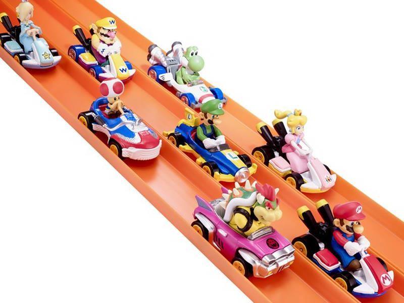 Estos son los carros de Hot Wheels inspirados en Mario Kart