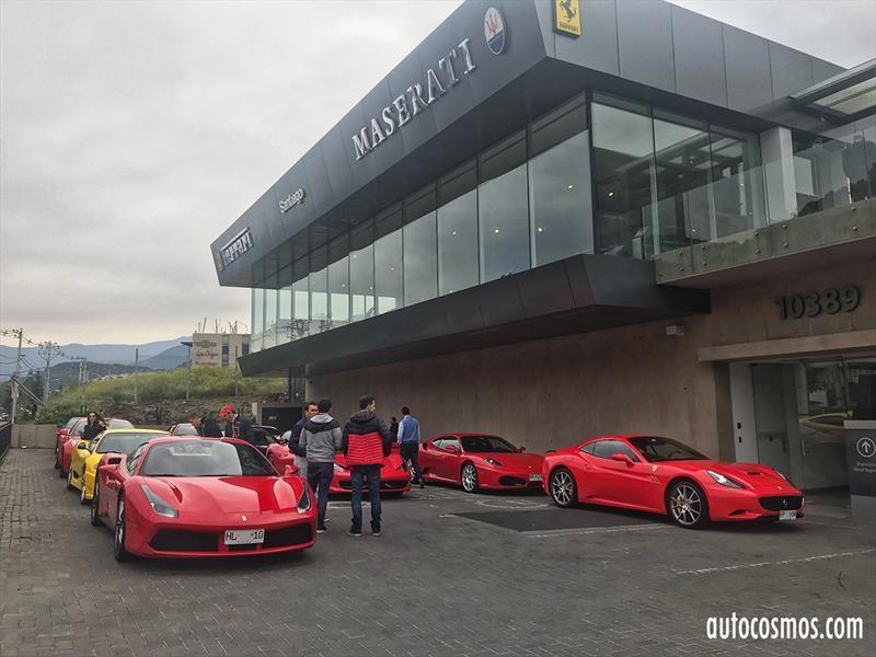 Club Ferrari Chile Se Embarca En Inedito Rally Por La Patagonia