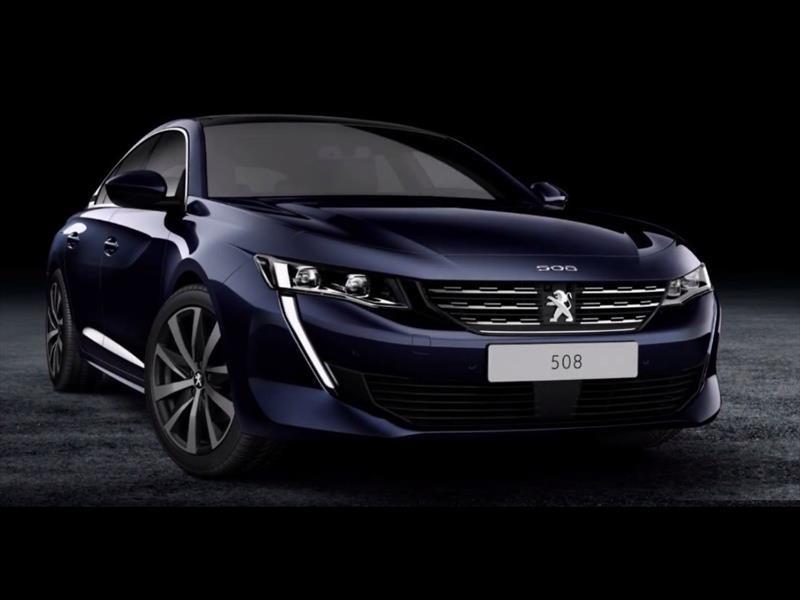 Nuevo Peugeot 508: se filtran las primeras imágenes oficiales