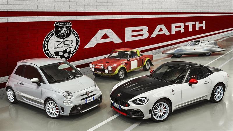 Abarth, la marca de alto performance de FIAT, cumple 70 años