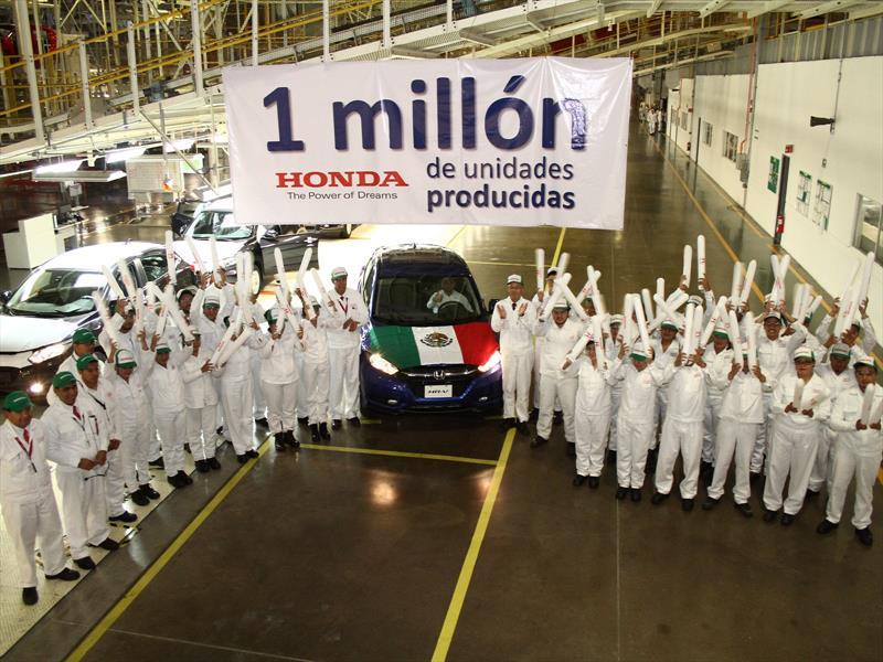 Honda celebra un millón de unidades producidas en México