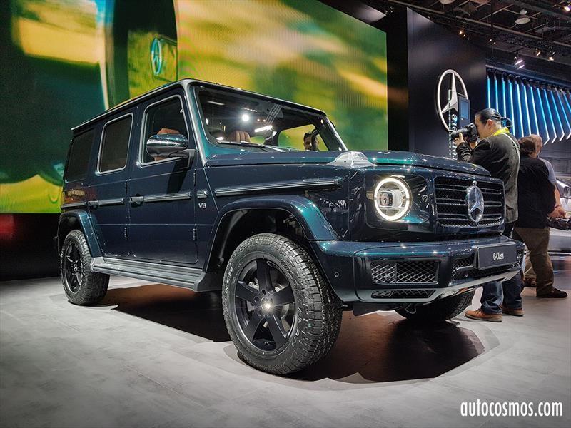 Autoshow De Detroit 2018 Mercedes Benz Clase G 2019 Cambiando