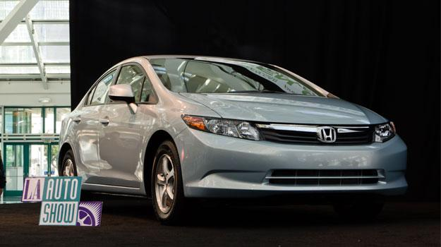 Honda Civic de gas natural es el Green Car of the Year 2012