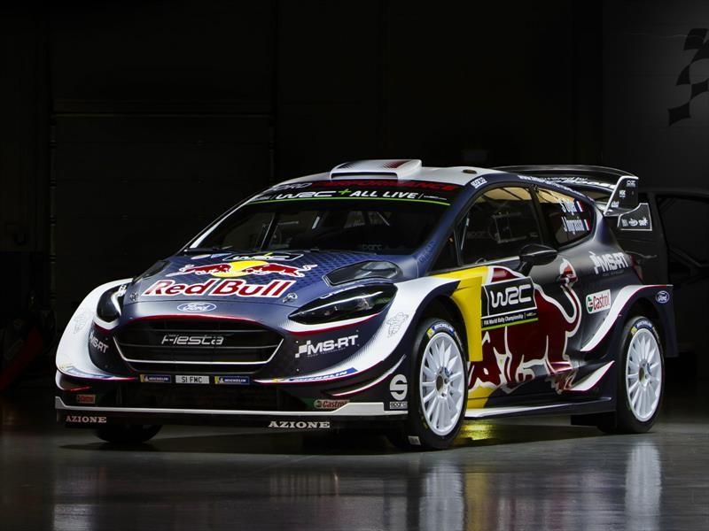 Ford Fiesta WRC 2018, listo para competir contra los mejores