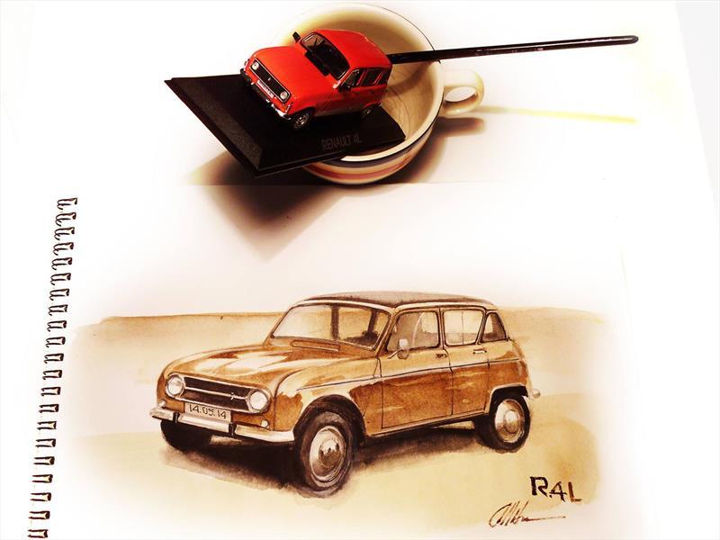 Autocosmos Precios Usados >> De la taza al papel: Increíbles autos pintados con café - Autocosmos.com