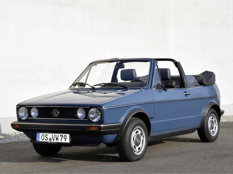 A 40 años del debut del Volkswagen Golf Cabriolet