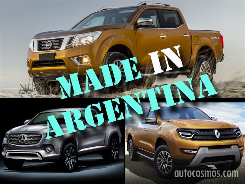 Nissan, Renault y Mercedes-Benz fabricarán pick-ups en Argentina
