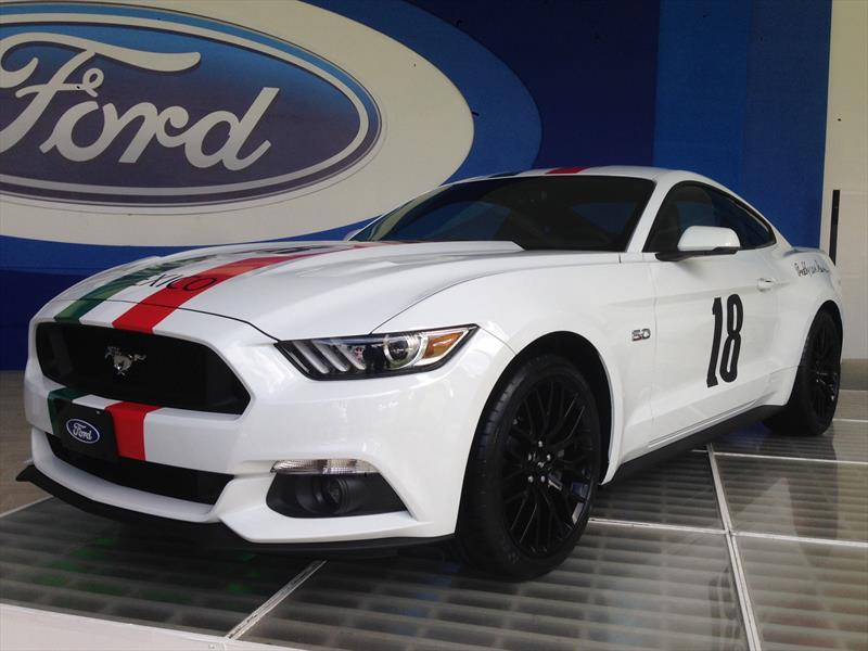Ford Mustang Edición Freddy Van Beuren 2015 llega a México ...