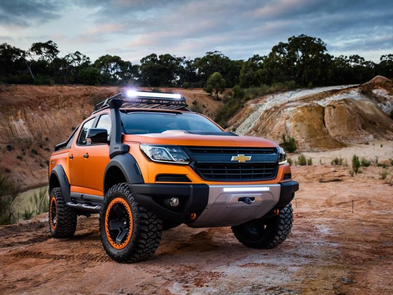 chevrolet colorado xtreme 2017 recibir un facelift. Black Bedroom Furniture Sets. Home Design Ideas