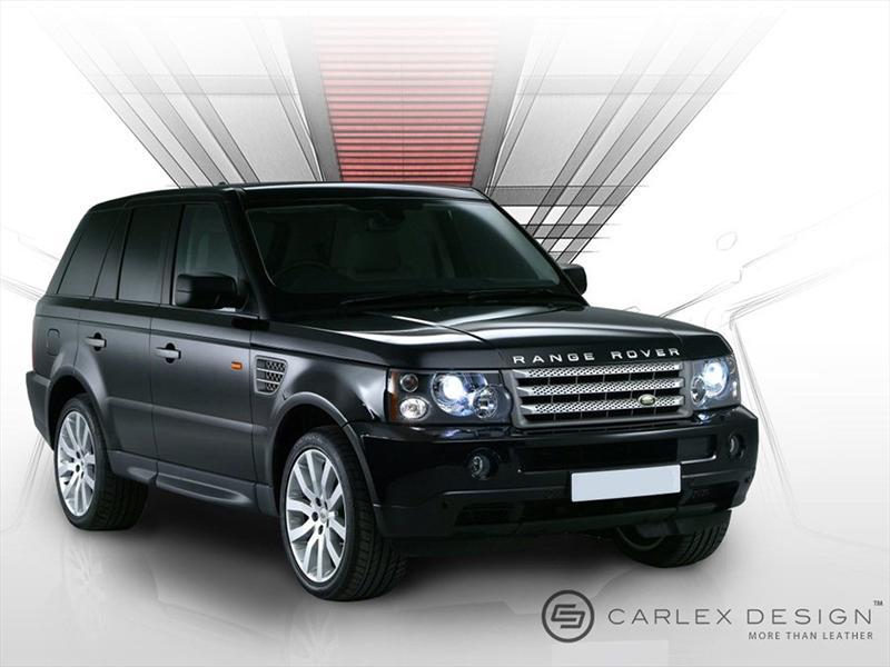 Burberry viste a Range Rover Sport