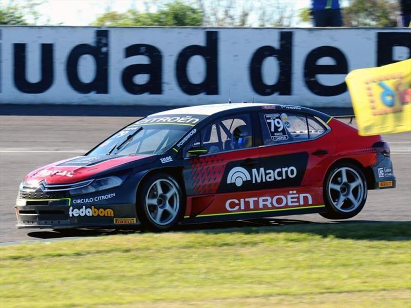STC2000 Rafaela 2018: Chapur y Citroën en plan forma