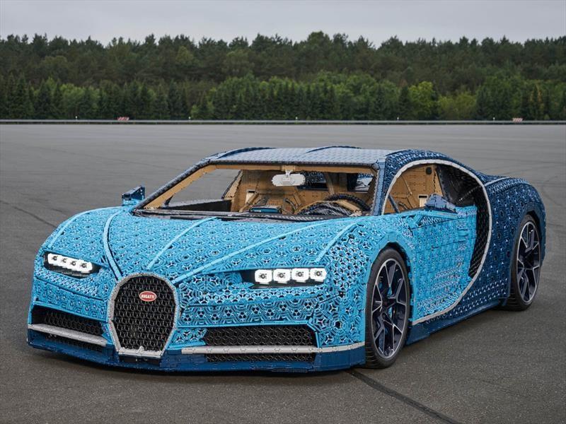 Video: Conoce el Bugatti Chiron hecho con Lego que puedes manejar