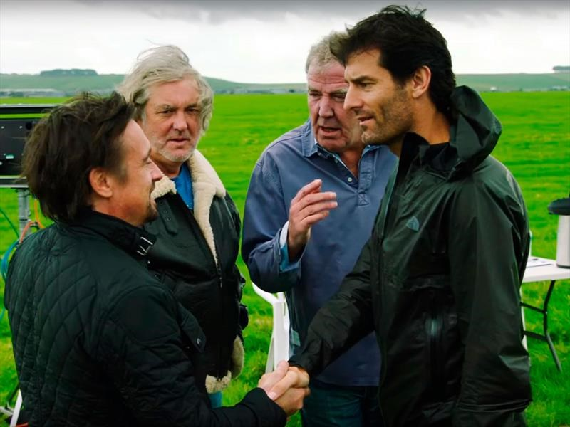 Mark Webber hace casting para The Grand Tour