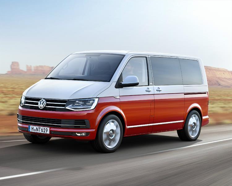 Volkswagen Transporter T6, se presenta la sexta generación