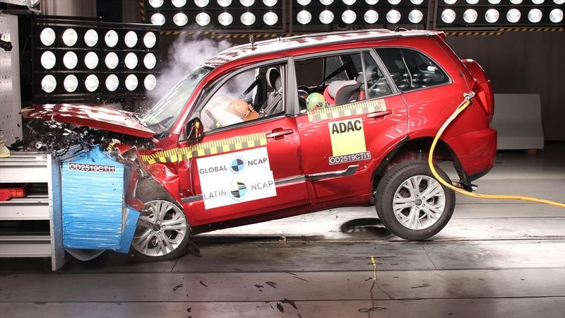 Chery Tiggo 3 pasa vergüenza en Latin NCAP