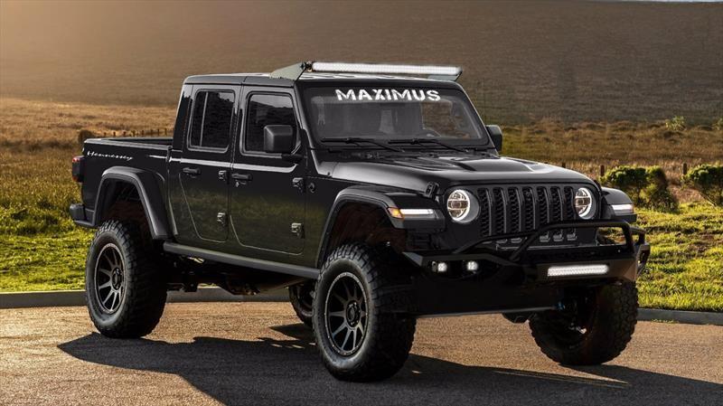 Jeep Gladiator por Hennessey Performance ofrece 1,000 hp gracias al V8 Hellcat