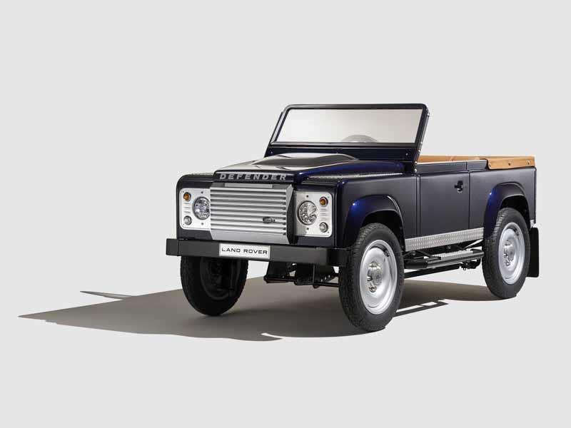Land Rover Defender Pedal Car Concept se presenta