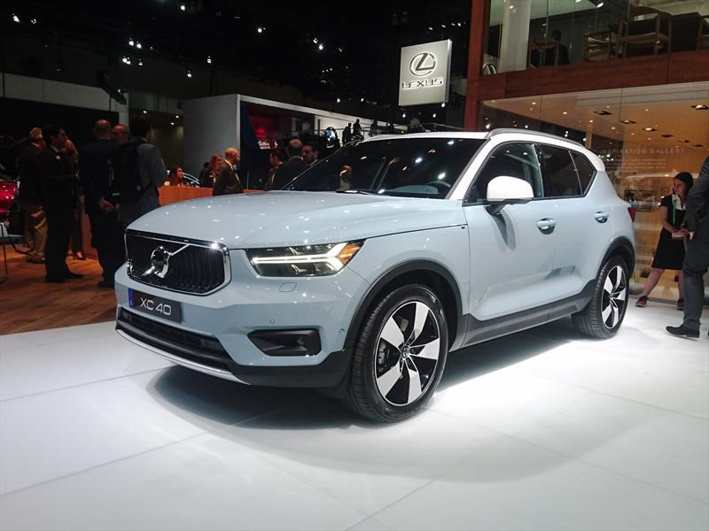 Volvo XC40 2019, un nuevo SUV entra a la contienda